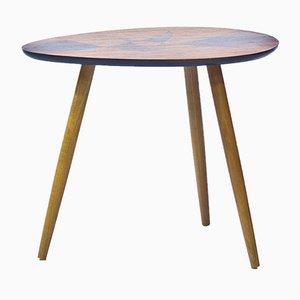 Schwedischer Tisch aus Palisander mit Intarsien, 1950er