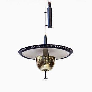 Schwedische Deckenlampe von Boréns, 1950er
