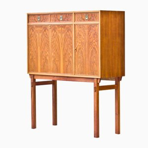 Swedish Secretaire or Bar Cabinet, 1960s