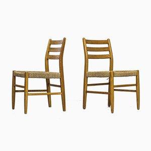 Norwegische Esszimmerstühle von Harry Moen für Konrad Steinstad's Snekkerverksted, 1960er, 10er Set