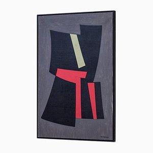 Peinture à l'Huile par Tore Nyberg, 1957