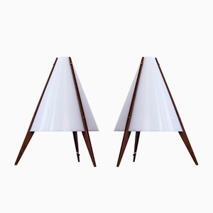 Table Lamps by Hans-Agne Jakobsson & Arne Nilsson for Hans-Agne Jakobsson AB, 1950s, Set of 2