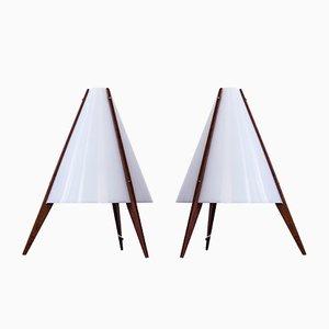 Table Lamps by Hans-Agne Jakobsson & Arne Nilsson for Hans-Agne Jakobsson AB, 1950s, Set of 2
