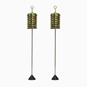 G20 Floor Lamps by Hans-Agne Jakobsson for Hans-Agne Jakobsson AB, 1950s, Set of 2