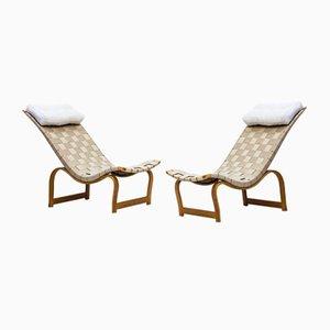 Vilstol Sessel von Bruno Mathsson für Firma Karl Mathsson, 1930er, 2er Set