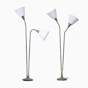 Floor Lamps by Sonja Katzin for ASEA, 1950s, Set of 2