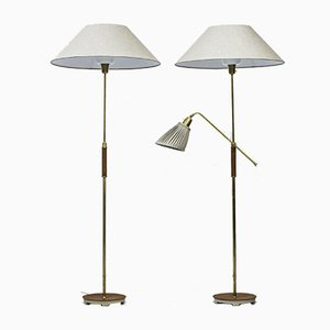 Floor Lamps by Bertil Brisborg for Nordiska Kompaniet, Set of 2
