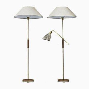 Stehlampen von Bertil Brisborg für Nordiska Kompaniet, 2er Set