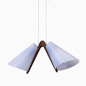 Ceiling Lamp by Uno & Östen Kristiansson for Luxus, 1950s