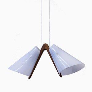 Deckenlampe von Uno & Östen Kristiansson für Luxus, 1950er