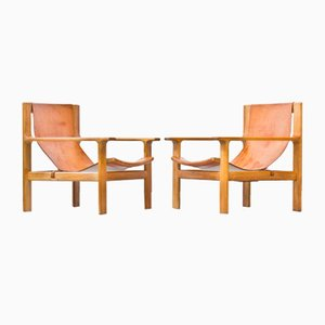 Lounge Chairs by Bertil Fridhagen for Bodafors, Set of 2
