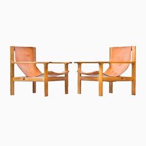 Lounge Chairs by Bertil Fridhagen for Bodafors, Set of 2