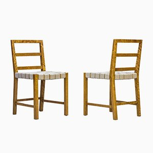 Dining Chairs by Uno Åhrén for Gemla, 1930s, Set of 6