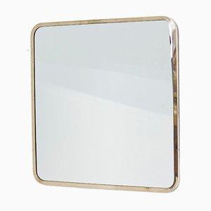 Spiegel aus Messing von Ivar Björk für Ystad Metall, 1950er