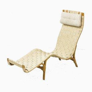 Chaise longue in stile Bruno Mathsson, anni '40