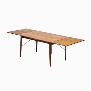 Esstisch von Peter Hvidt & Mølgaard für Søborg furniture, 1950er