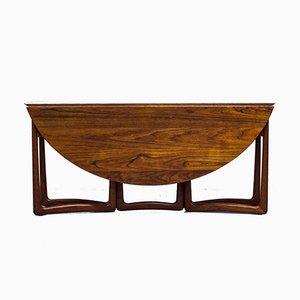 Drop-Leaf Dining Table by Peter Hvidt & Mølgaard for France Son, 1950s