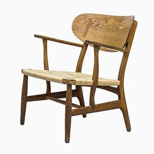 Modell CH 22 Sessel von Hans J. Wegner für Carl Hansen & Søn, 1950er