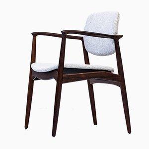 Rosewood Armchair by Erik Buch for Ørum Møbler, 1950s