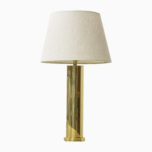 Brass Table Lamp from Boréns, 1960s