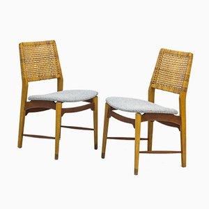 Esszimmerstühle von Alfred Sand, 1950er, 6er Set