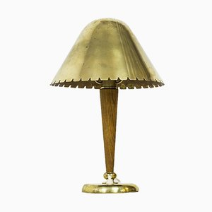 Table Lamp Attributed to Böhlmarks, 1940s