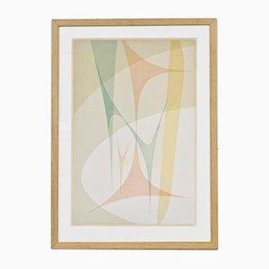 Lithograph No. 2 by Nils Nixon, 1950s