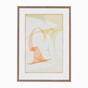 Lithographie No. 1 par Nils Nixon, 1950s
