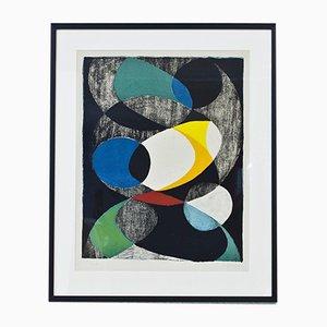 Lithographie von Pierre Olofsson, 1950er