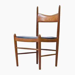 Chaises de Salon par Vestervig Eriksen pour Brøderna Tromborg, 1950s, Set de 10