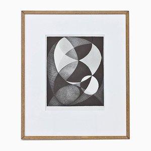 Radierung von Pierre Olofsson, 1950er
