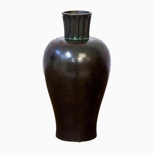 Bronze Vase from GAB, Guldsmedsaktiebolaget, 1930s