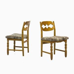 Chaises de Salon Razorblade par Henning Kjaernulf pour Nyrup Møbelfabrik, 1960s, Set de 6
