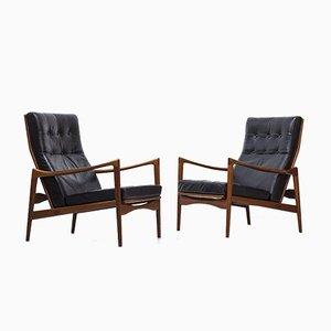 Örenäs Sessel von Ib Kofod-Larsen für OPE, 1950er, 2er Set