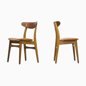 CH30 Chairs by Hans J. Wegner for Carl Hansen & Søn, 1960s, Set of 8