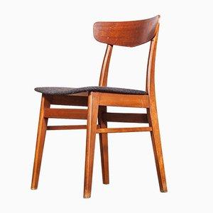 Mid-Century Danish Teak Upholstered Dining Chair, 1960s