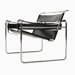 Bauhaus Model B3 Wassily Chair by Marcel Breuer for De Coene, 1950s