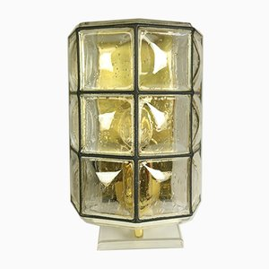 Mid-Century Iron and Glass Sconces from Limburg, 1960s, Set of 4