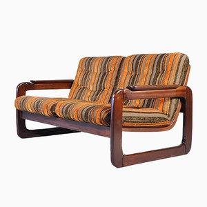 Italienisches Mid-Century Love Sofa, 1970er