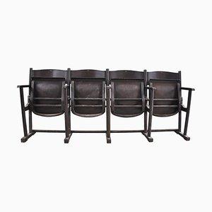 Vintage Movie Theater Chair