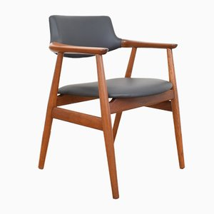 Mid-Century Danish Side Chair by Svend Åge Eriksen for Glostrup, 1950s