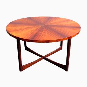 Rosewood Veneer and Teak Coffee Table, 1960s