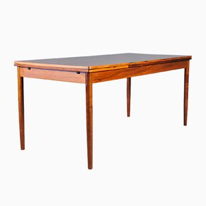 Large Mid-Century Danish Extendable Rosewood Dining Table, 1960s