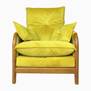 Vintage Yellow Armchair from Cinitique