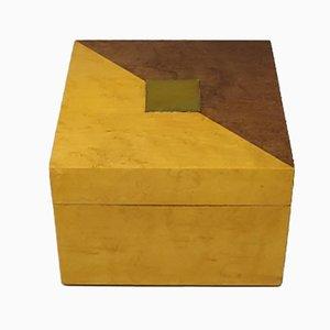 Vintage Birdseye Maple Box, 1970s