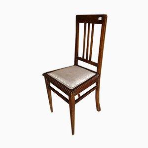 Italian Mahogany Dining Chair, 1930s