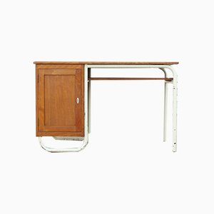 French Desk by Jacques Hitier for Mobilor, 1950s