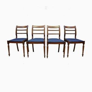 Esszimmerstühle, 1960er, Set of 4