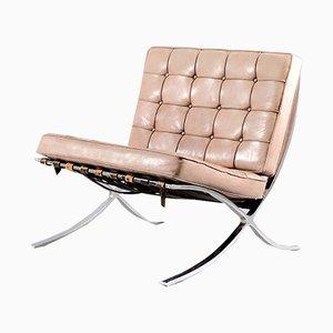 Chaise Barcelona Vintage par Ludwig Mies van der Rohe pour Knoll Inc. / Knoll International, 1970s