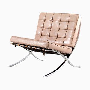 Vintage Barcelona Chair by Ludwig Mies van der Rohe for Knoll Inc. / Knoll International, 1970s